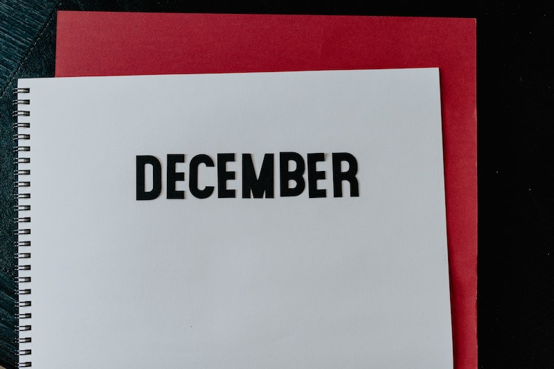 December 2020 An unusual year
