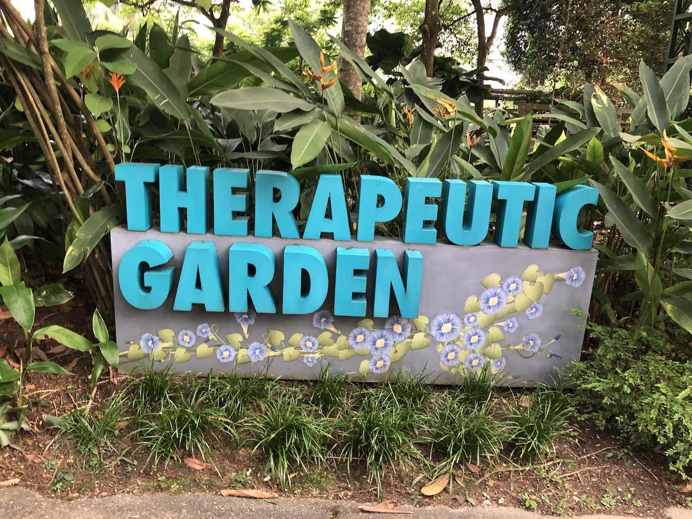 Therapeutic garden